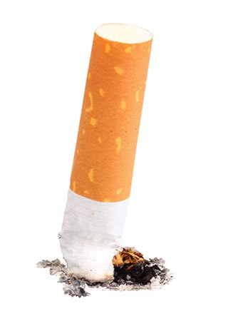 Smoking is estimated to increase the risk of stroke by two to four times