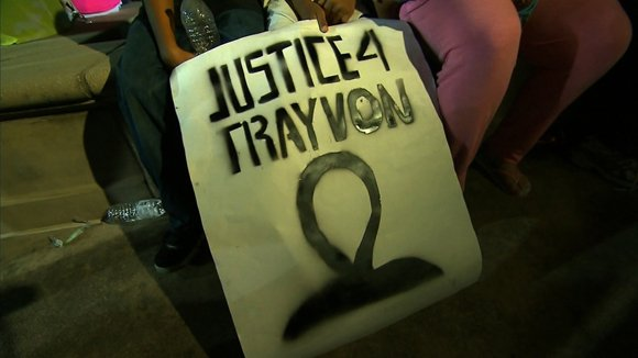 SANFORD, Fla. — Trayvon Martin's father says his heart is broken but his faith is not.