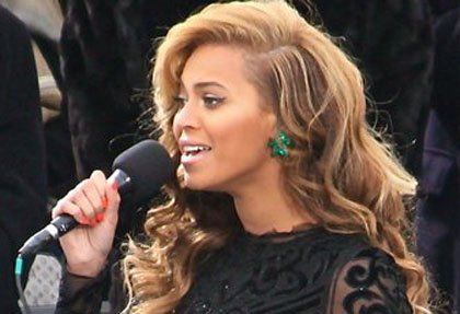 Beyonce sings at 57th Presidential Inauguration