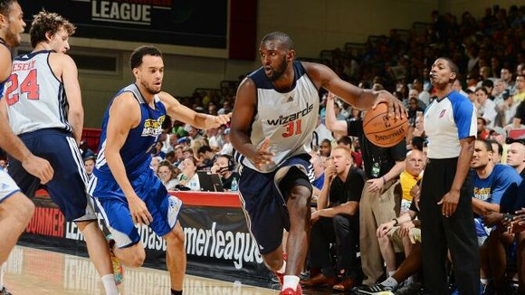 The Washington Wizards dropped to 0-2 Sunday in summer league play in Las Vegas after an 82-69 loss to the ...