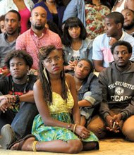 Members of the Black Youth Project.