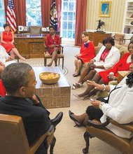 The president and the Deltas