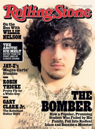 Rolling Stone puts Boston bombing suspect on cover, ignites firestorm