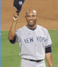 Mariano Rivera had an All-Star three days to remember. The greatest closer in baseball history was celebrated and tipped his cap to the fans and his teammates. (Bill Menzel All-Star Game photos)