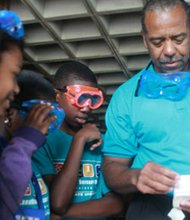 Fifty area middle-school students are using the summer break to sharpen their math and science skills through the ExxonMobil Bernard Harris Summer Science Camp at Bowie State University (BSU).