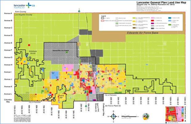 General Plan Land Use Map
