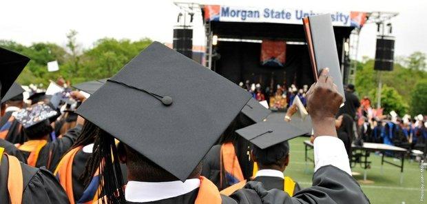 Morgan State University graduation