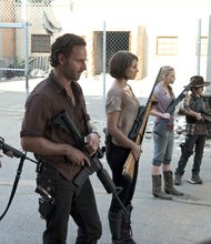 """""""The Walking Dead""""  AMC's """"The Walking Dead"""" is about a zombie apocalypse and films in Atlanta, Georgia."""