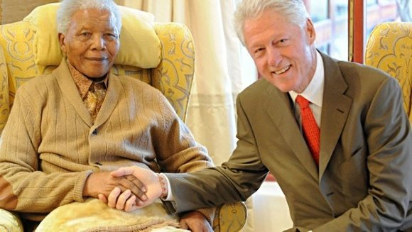 Nelson Mandela, South Africa's first black president, continues to improve while spending his 95th birthday on Thursday in a Pretoria ...