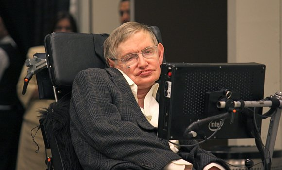 "Scientist Stephen Hawking has been quoted saying ""I regard the brain as a computer which will stop working when its components fail. There is no heaven or afterlife for broken down computers; that is a fairy story for people afraid of the dark."""