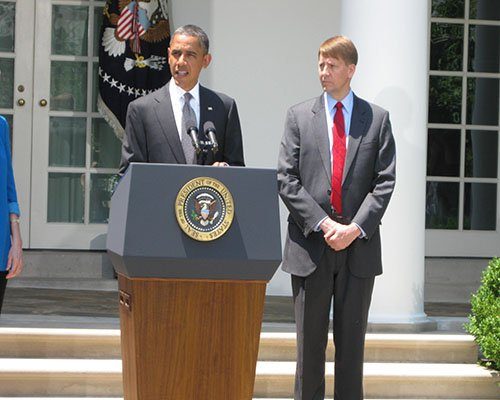 Richard Cordray confirmed as Director of the Consumer Financial Protection Bureau on July 17, 2013.