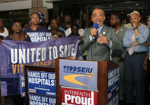 Al Sharpton Interfaith rally