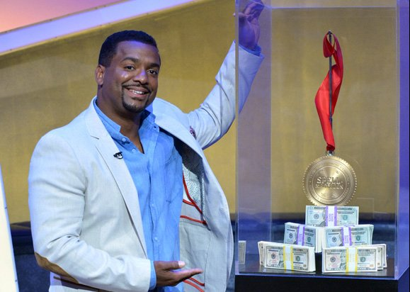 "Alfonso Ribeiro hosts ABC Family's hilarious new game show, ""Spell-Mageddon,"" which has contestants take on hilarious distractions while spelling increasingly challenging words. The show premieres Wednesday, July 24th on ABC Family."