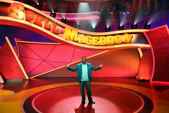 "ABC Family's hilarious new game show, ""Spell-Mageddon,"" has contestants take on hilarious distractions while spelling increasingly challenging words.  Hosted by Alfonso Ribeiro, the show premieres Wednesday, July 24th on ABC Family."