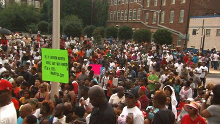 Atlanta 'Justice for Trayvon' Rally 	