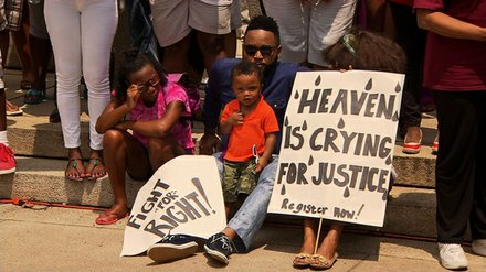 Washington, D.C. 'Justice for Trayvon' Rally 	