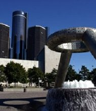 Landmarks around Detroit - Renaissance Center