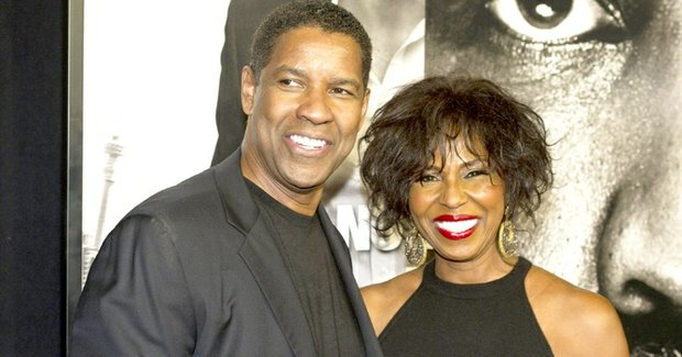 Denzel Washington and his wife, Pauletta Pearson, attend the premiere of Safe House, in New York, Feb. 7, 2012.