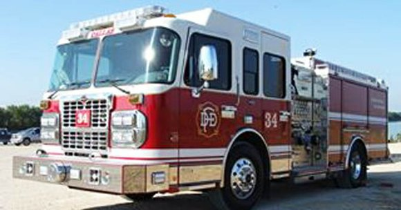"While en route to a ""working structure fire"" Thursday morning, a Dallas Fire-Rescue fire engine was involved in a major ..."