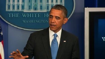 In his first live comments since the verdict last weekend in the case of Martin's shooting death last year, President Barack Obama addressed media at the White House Briefing Room.