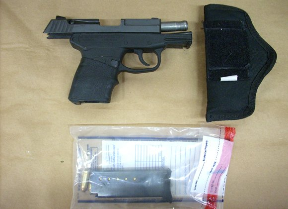 George Zimmerman gun and evidence
