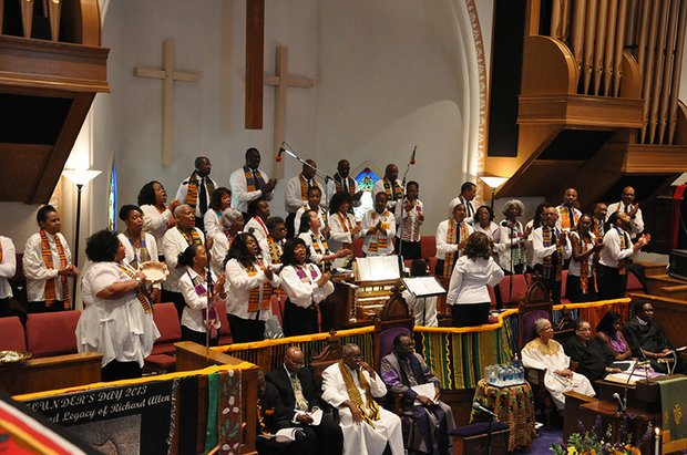 AME Bishop Samuel Green delivered a spellbinding sermon at Metropolitan AME on Sunday, July 21.