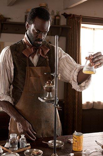Ato Essandoh as Dr. Matthew Freeman, a former slave, in BBC America's Cooper.