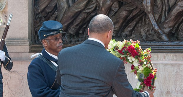 On July 18th the Commonwealth celebrated the Massachusetts 54th Volunteer Infantry (a mostly all Black regiment)  who fought and died in the quest to take Fort Wagner, South Carolina during the Civil War on July 18, 1863. 
