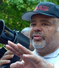 Larry Young at the March of Justice