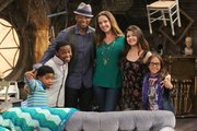 "The cast of ""The Haunted Hathaways"""