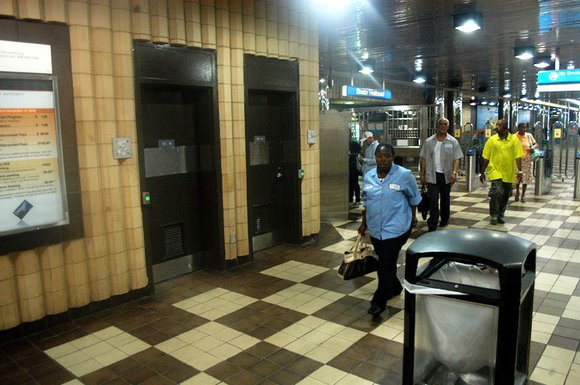 The DeKalb SCLC picketed the Decatur MARTA station on July 24 to protest the transit agency's continued closure of restrooms ...
