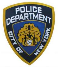 NYPD badge
