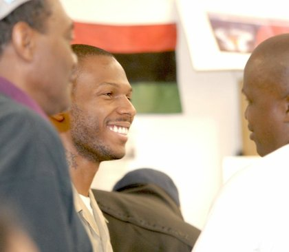 Malcolm Shabazz, the late grandson of the late Malcolm X
