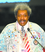 Don King is lacing up his gloves to take on the International Olympic Committee.