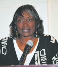 Golf legend and pioneer Renee Powell was honored by the Original Tee Golf Classic.