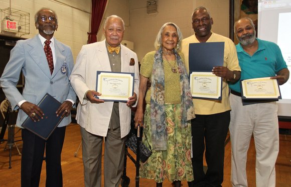 The Harlem Cultural Archives (HCA) Historical Society hosted an award ceremony inducting the first inductees into the Riverton Alumni Ring ...