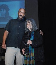 Sonia Sanchez and David Mills