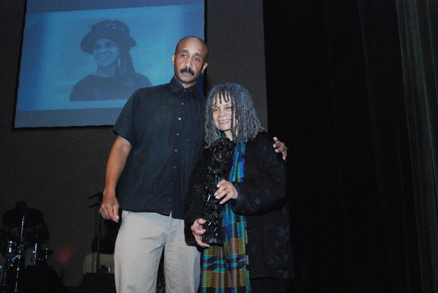 Sonia Sanchez and David Mills