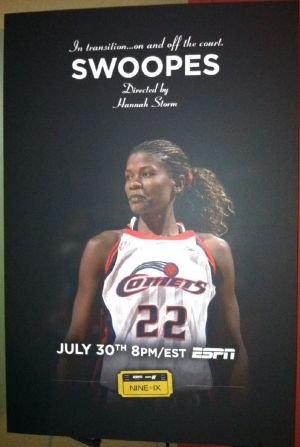 "When ESPN airs it's next documentary from the series ""Nine for IX"", former Houston Comets star Sheryl Swoopes will be ..."