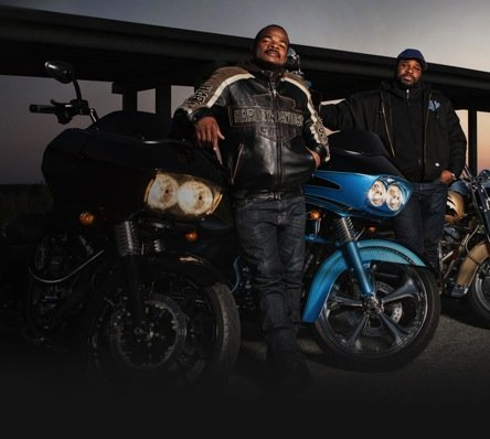 Film director F. Gary Gray (left) and actor Malcolm-Jamal Warner (Courtesy of h-d.com)