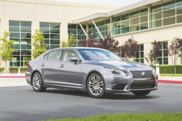 It's impossible to think that a 2013 Lexus LS owner could ever be dissatisfied with the refresh — it's a fantastic update for the luxury flagship. (Courtesy of Toyota Motor Sales U.S.A., Inc.)