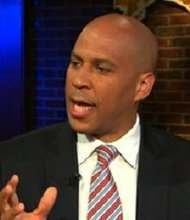 Newark, New Jersey Mayor Cory Booker