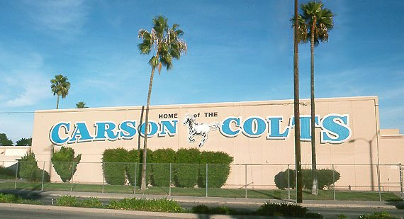 A former Carson High School student with cerebral palsy is suing the Los Angeles Unified School District for allegedly denying ...