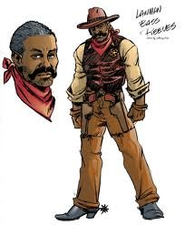 Bass Reeves Sketches