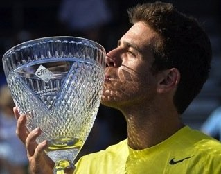 Juan Martin del Potro has grown accustomed to winning the Citi Open and beating John Isner. On Sunday at Rock ...