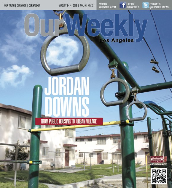 Continuing a nationwide policy of demolishing so-called obsolete public housing, the long infamous Jordan Downs housing projects in Watts will ...