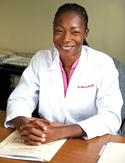 Dr. Myechia Minter-Jordan took over as the new president and CEO of The Dimock Center on July 1. Minter-Jordan has served as chief medical officer at the Roxbury center since 2007.