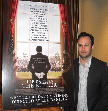Danny Strong adapted the screenplay for Lee Daniels' The Butler. The movie stars Forest Whitaker and tells the story of fictional White House butler Cecil Gaines.