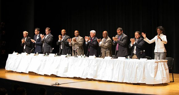 During last week's forum at Roxbury Community College, the 12 candidates running to replace Mayor Thomas Menino were asked how ...
