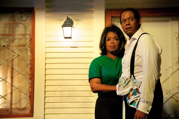 "Oprah Winfrey and Forest Whitaker star in ""The Butler."""